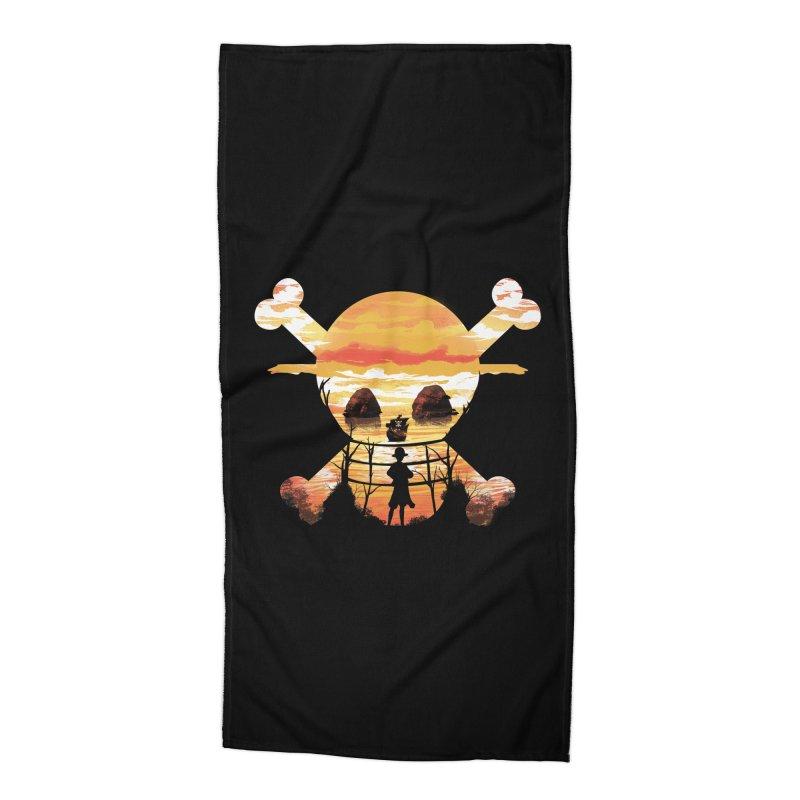 Straw Hat Crew Accessories Beach Towel by dandingeroz's Artist Shop