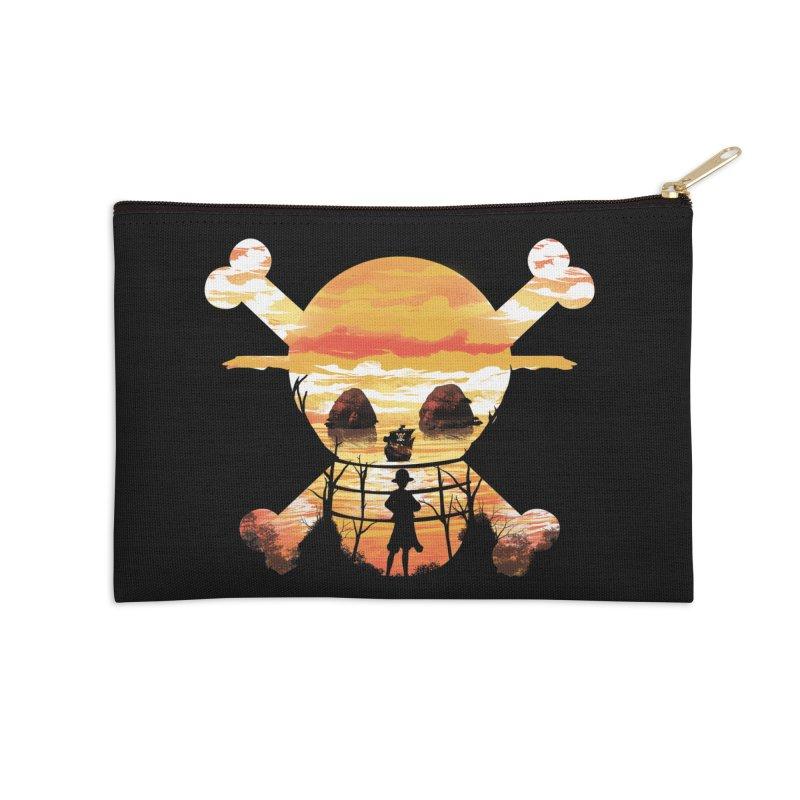 Straw Hat Crew Accessories Zip Pouch by dandingeroz's Artist Shop