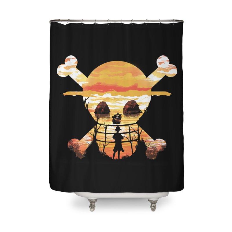 Straw Hat Crew Home Shower Curtain by dandingeroz's Artist Shop