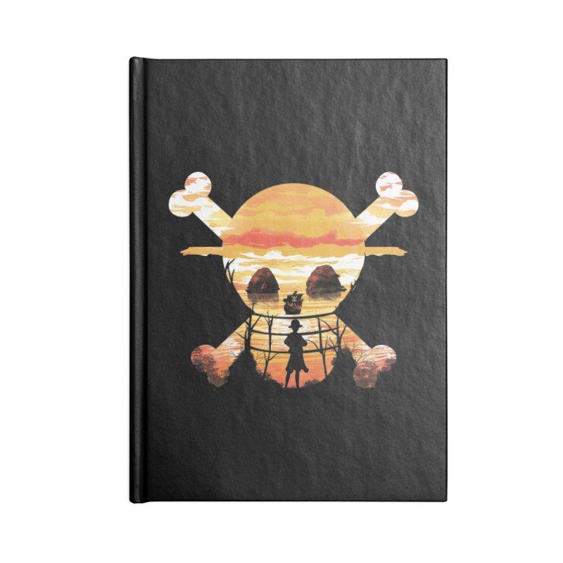 Straw Hat Crew Accessories Notebook by dandingeroz's Artist Shop