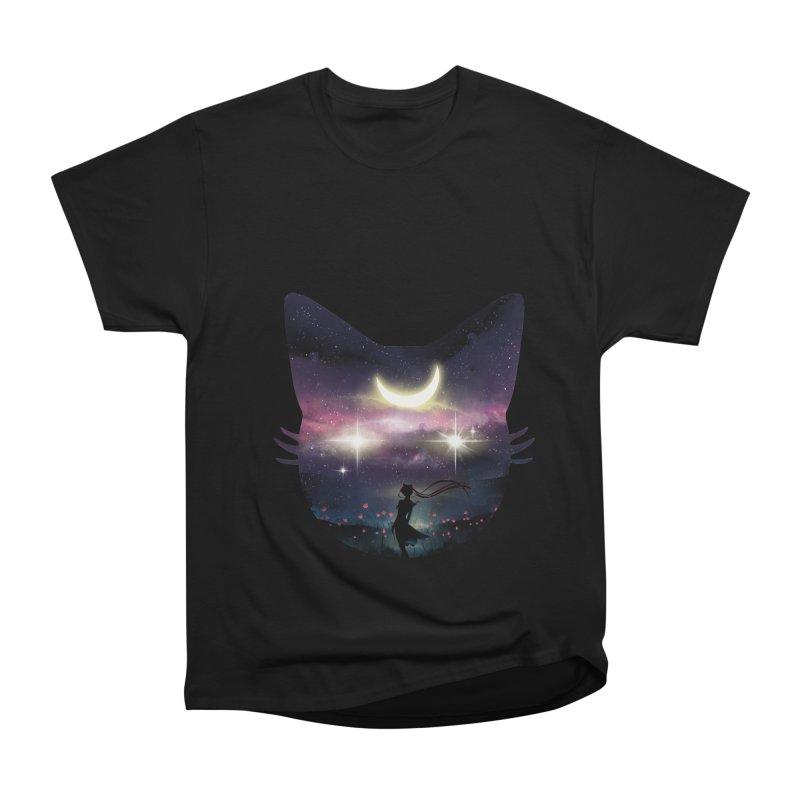 Moon Chaser Women's Heavyweight Unisex T-Shirt by dandingeroz's Artist Shop