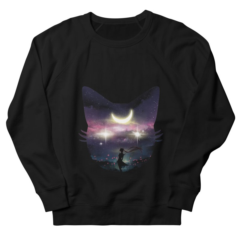 Moon Chaser Men's Sweatshirt by dandingeroz's Artist Shop