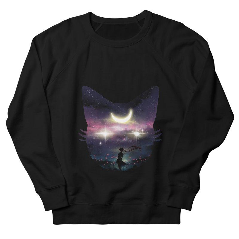 Moon Chaser Men's Sweatshirt by dandingeroz's Artist Shop
