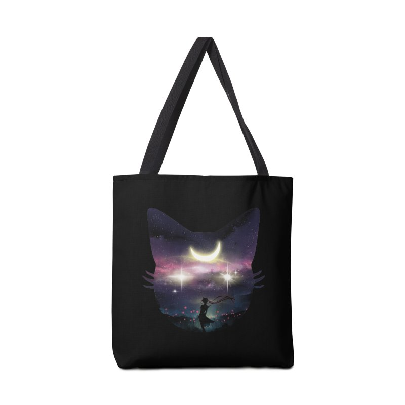 Moon Chaser Accessories Bag by dandingeroz's Artist Shop