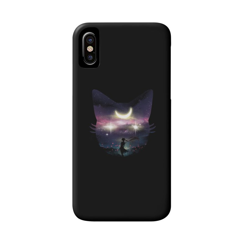 Moon Chaser Accessories Phone Case by dandingeroz's Artist Shop