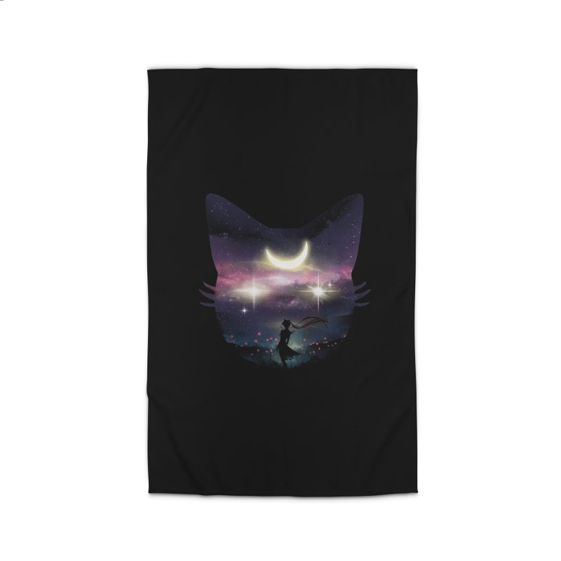 Moon Chaser Home Rug by dandingeroz's Artist Shop