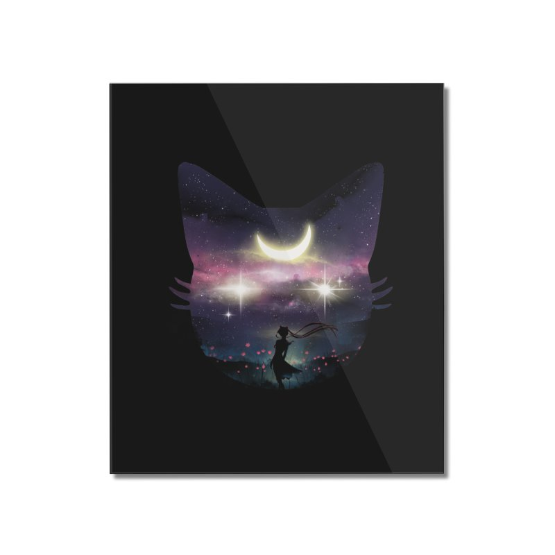 Moon Chaser Home Mounted Acrylic Print by dandingeroz's Artist Shop