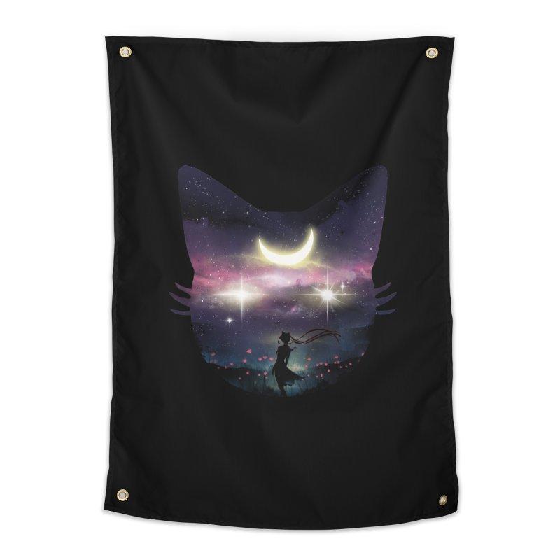 Moon Chaser Home Tapestry by dandingeroz's Artist Shop