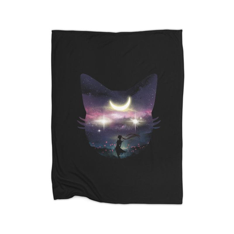 Moon Chaser Home Blanket by dandingeroz's Artist Shop