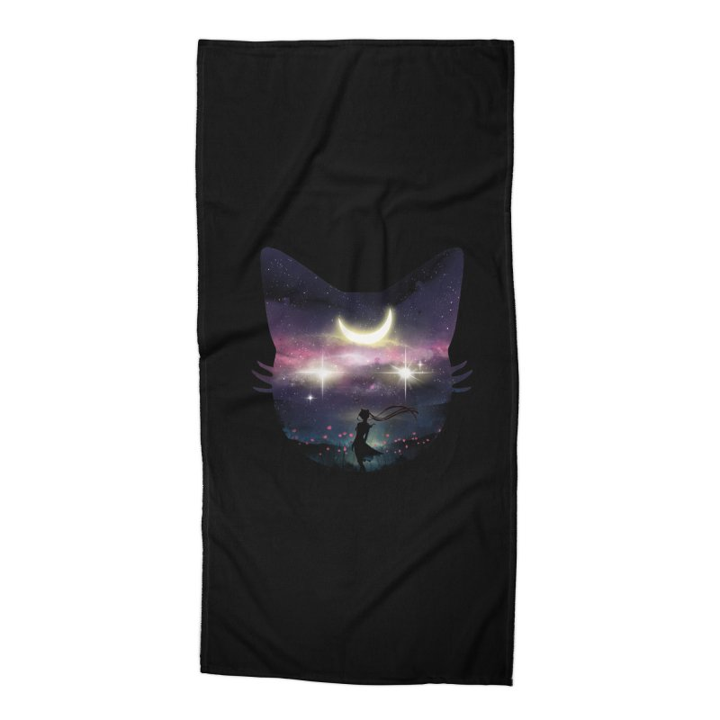 Moon Chaser Accessories Beach Towel by dandingeroz's Artist Shop