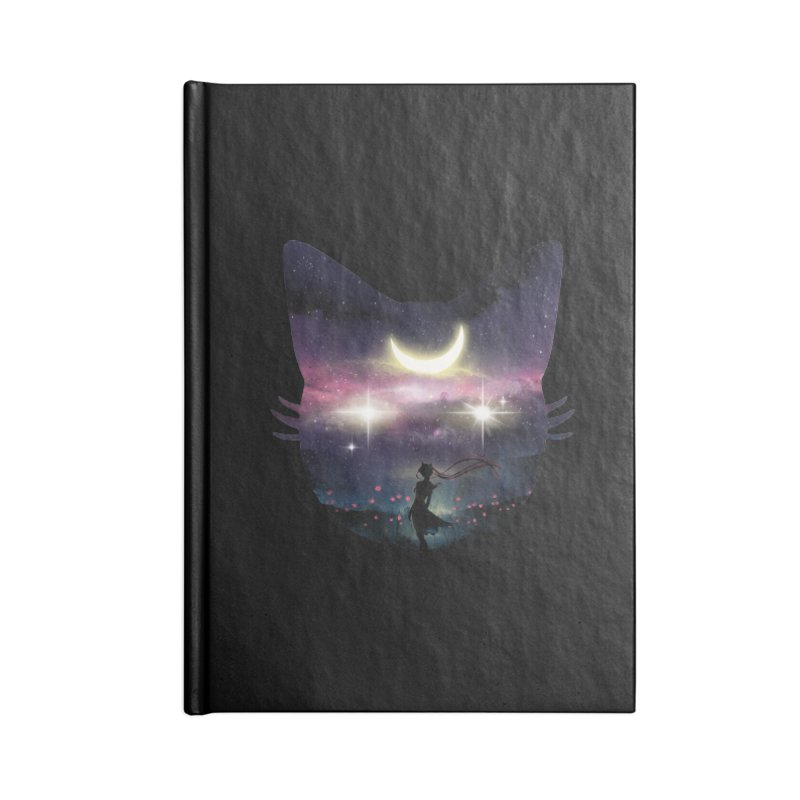 Moon Chaser Accessories Notebook by dandingeroz's Artist Shop