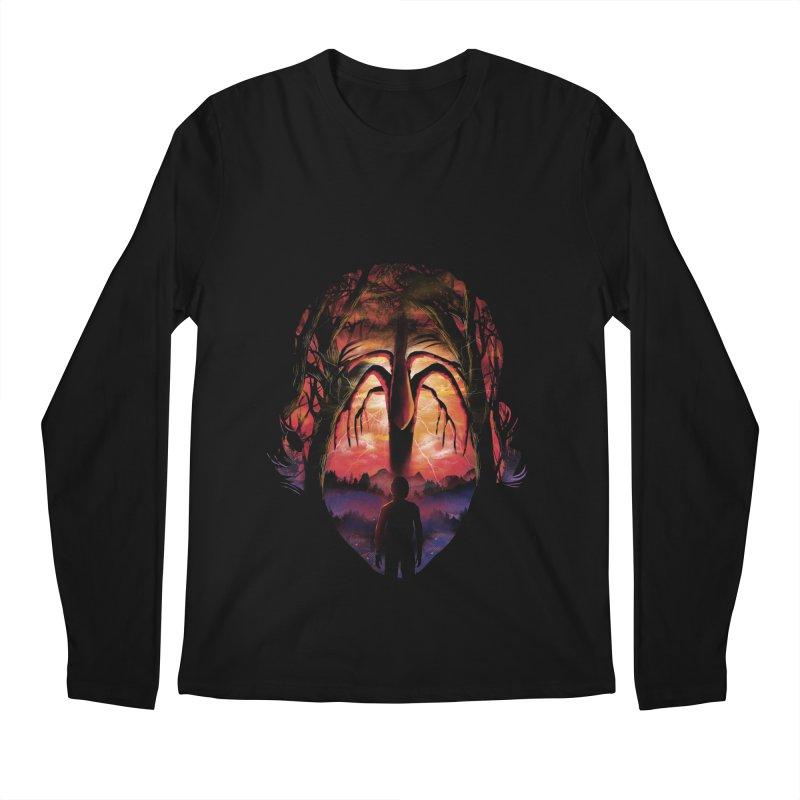 Shadow Monster Men's Longsleeve T-Shirt by dandingeroz's Artist Shop