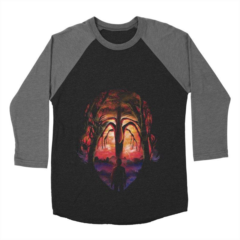 Shadow Monster Women's Baseball Triblend Longsleeve T-Shirt by dandingeroz's Artist Shop
