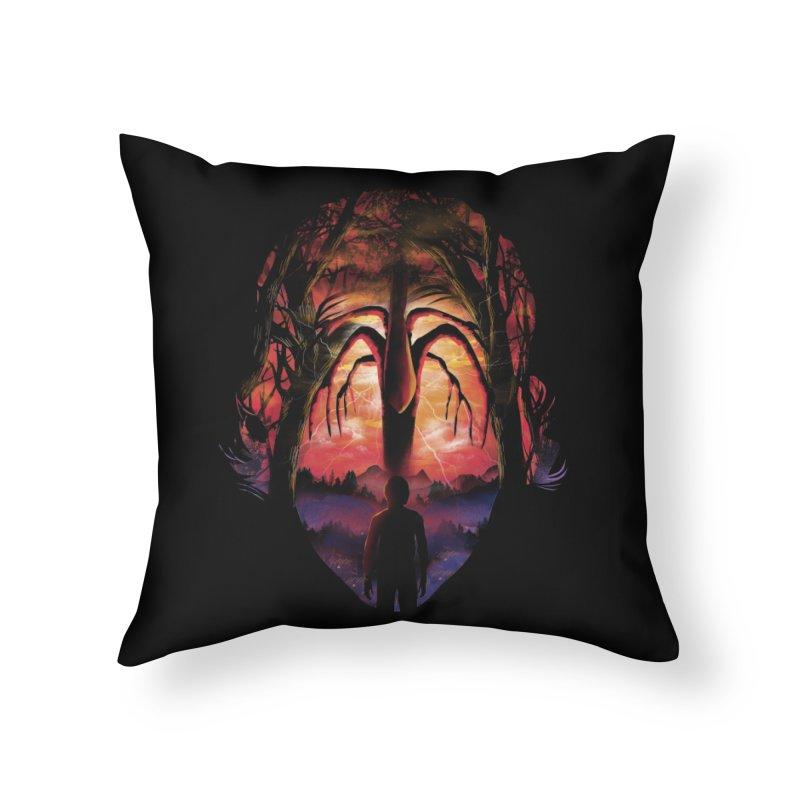 Shadow Monster Home Throw Pillow by dandingeroz's Artist Shop