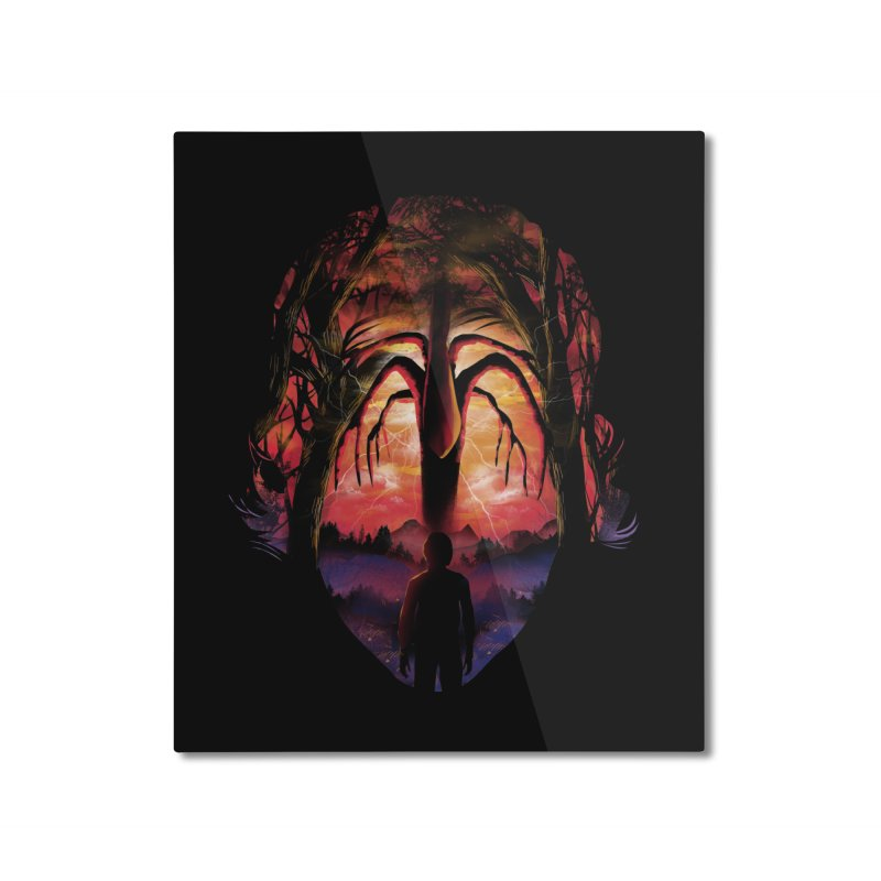 Shadow Monster Home Mounted Aluminum Print by dandingeroz's Artist Shop