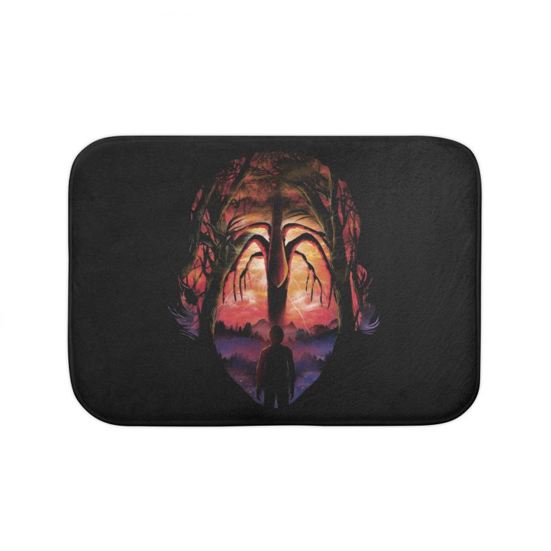 Shadow Monster Home Bath Mat by dandingeroz's Artist Shop