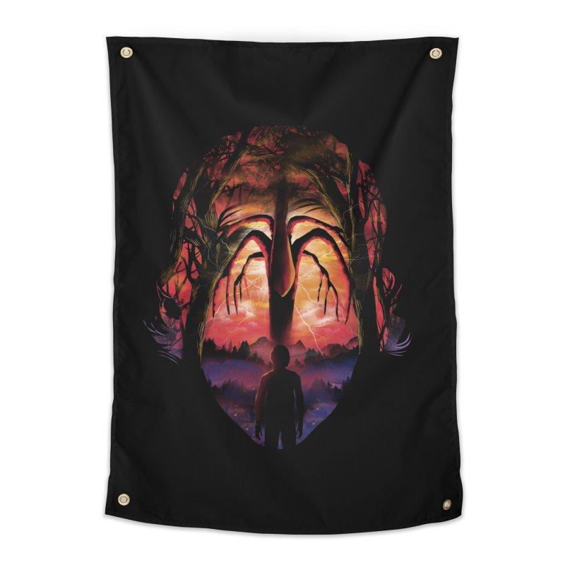 Shadow Monster Home Tapestry by dandingeroz's Artist Shop