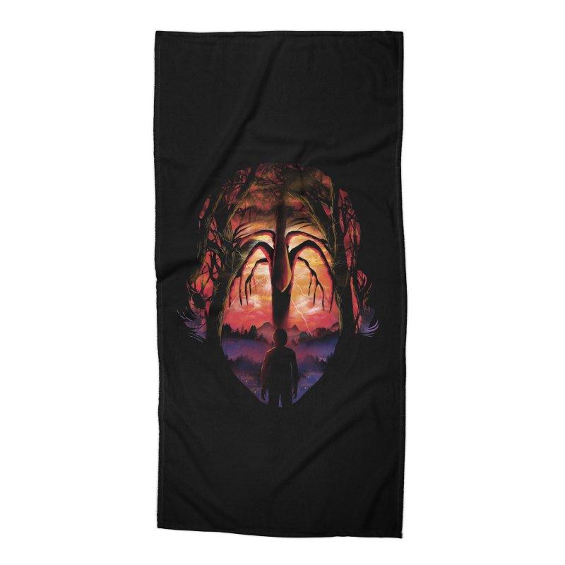 Shadow Monster Accessories Beach Towel by dandingeroz's Artist Shop
