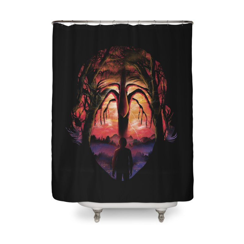 Shadow Monster Home Shower Curtain by dandingeroz's Artist Shop