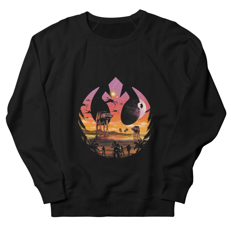 Rebellion Sunset Men's Sweatshirt by dandingeroz's Artist Shop