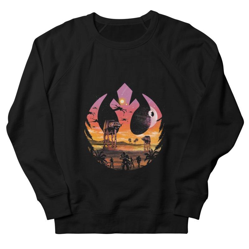 Rebellion Sunset Men's Sweatshirt by dandingeroz's Artist Shop