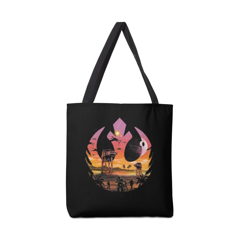 Rebellion Sunset Accessories Bag by dandingeroz's Artist Shop
