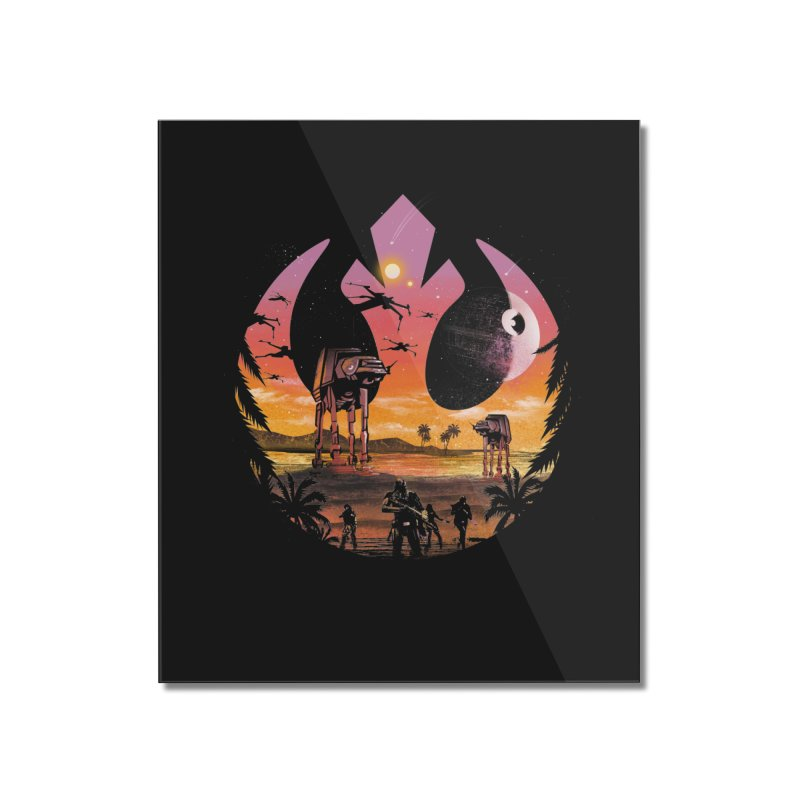 Rebellion Sunset Home Mounted Acrylic Print by dandingeroz's Artist Shop
