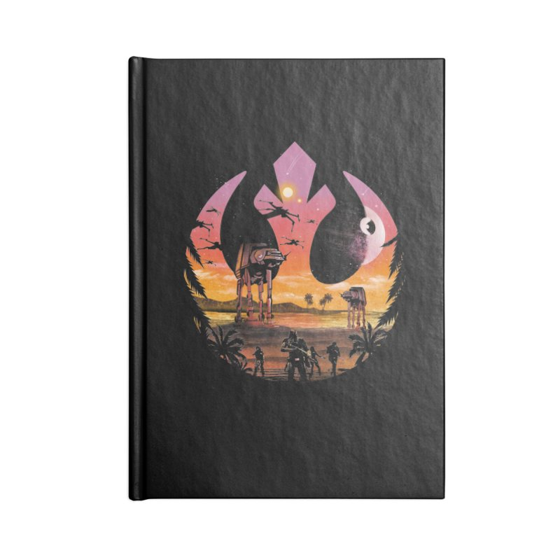 Rebellion Sunset Accessories Notebook by dandingeroz's Artist Shop