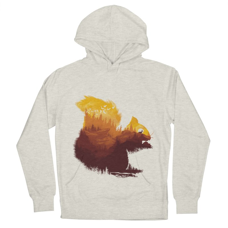 Be a little wild Men's French Terry Pullover Hoody by dandingeroz's Artist Shop