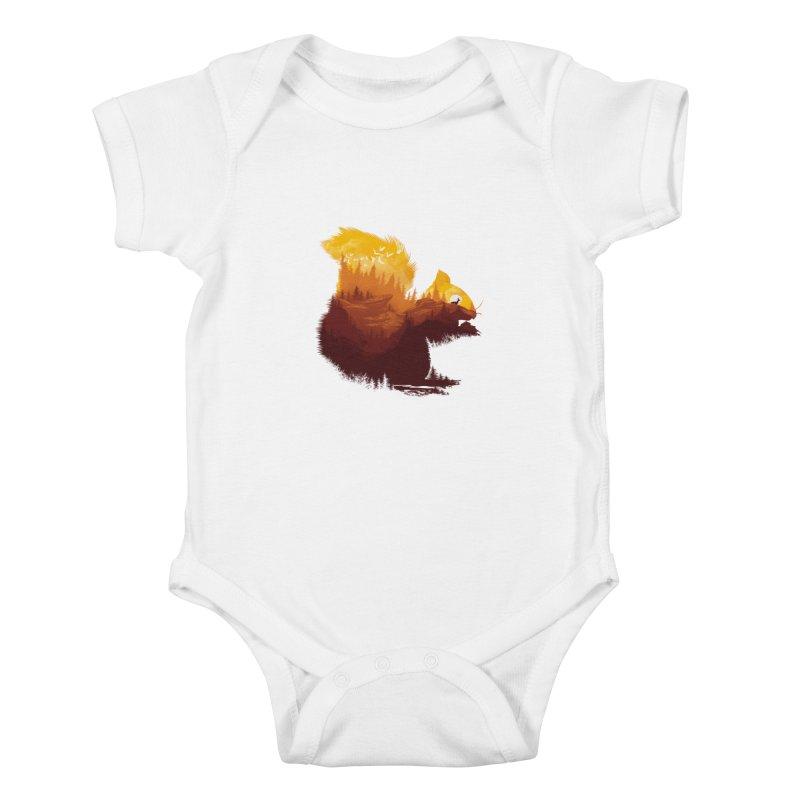 Be a little wild Kids Baby Bodysuit by dandingeroz's Artist Shop