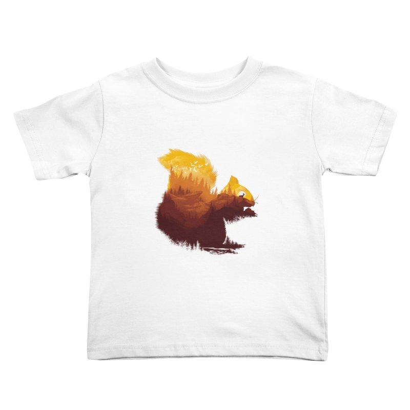Be a little wild Kids Toddler T-Shirt by dandingeroz's Artist Shop