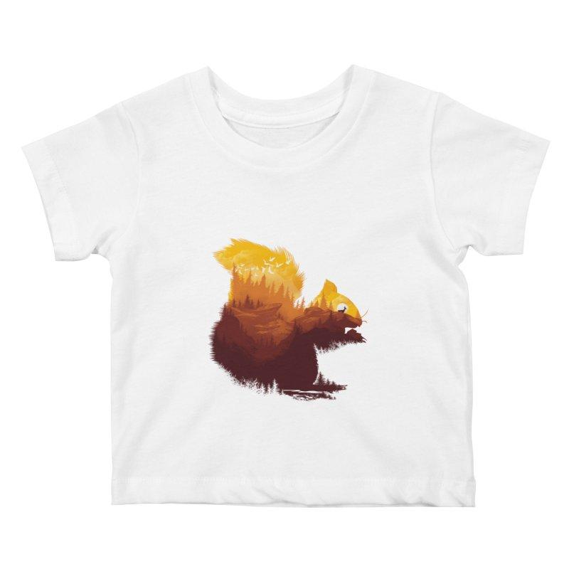 Be a little wild Kids Baby T-Shirt by dandingeroz's Artist Shop