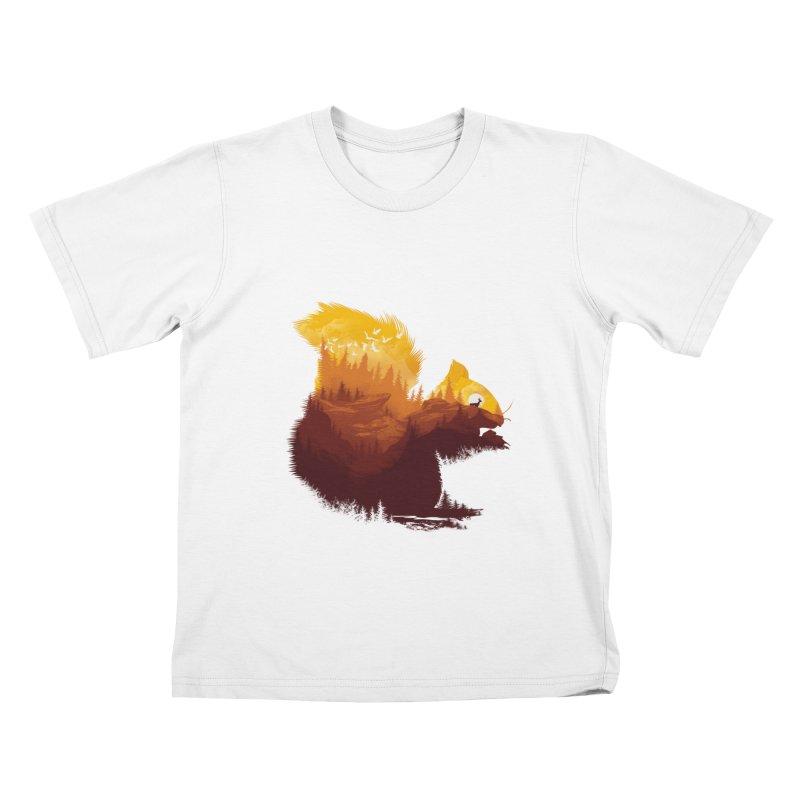 Be a little wild Kids T-Shirt by dandingeroz's Artist Shop