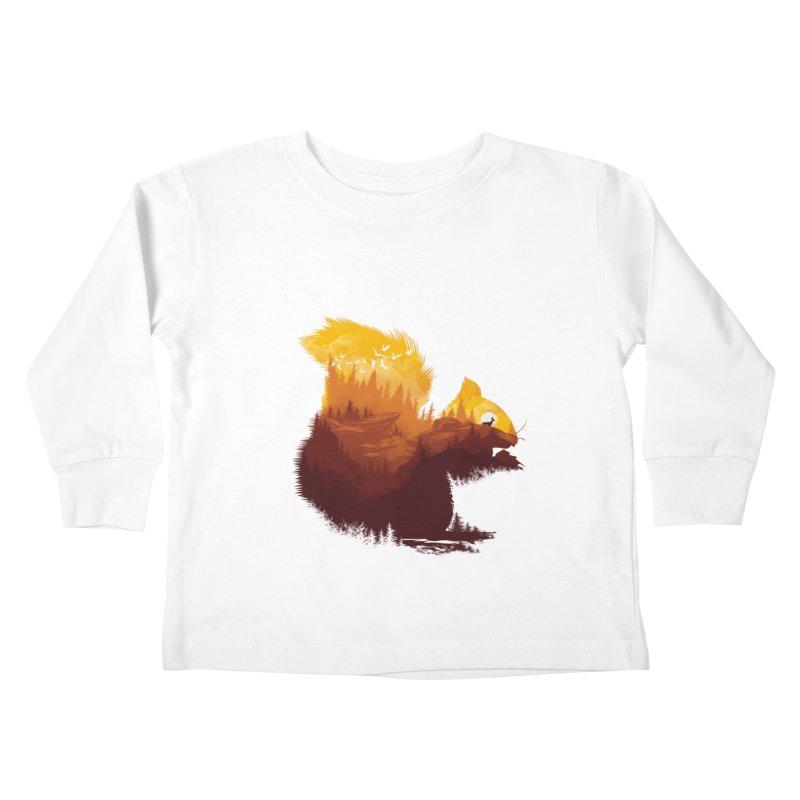 Be a little wild Kids Toddler Longsleeve T-Shirt by dandingeroz's Artist Shop