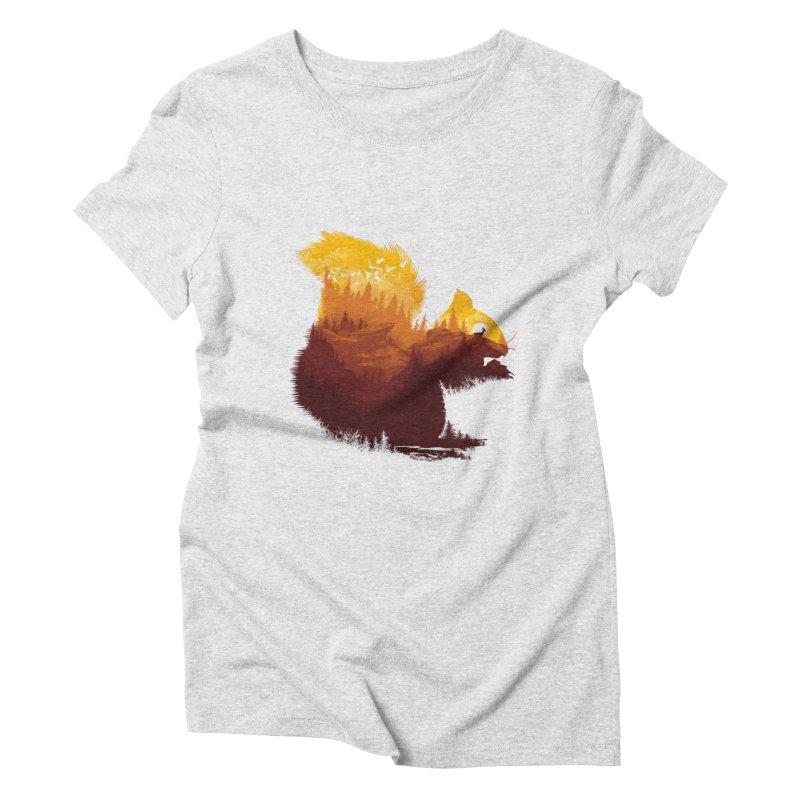 Be a little wild Women's Triblend T-Shirt by dandingeroz's Artist Shop