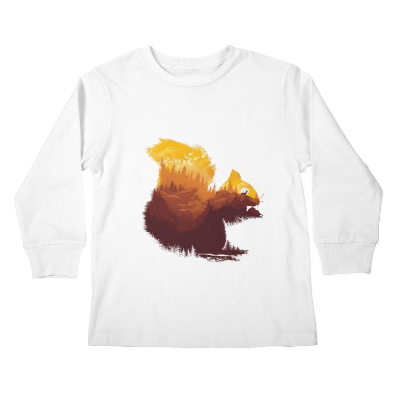 Be a little wild Kids Longsleeve T-Shirt by dandingeroz's Artist Shop