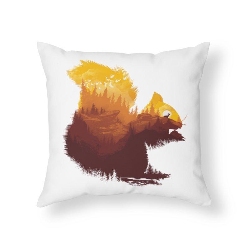 Be a little wild Home Throw Pillow by dandingeroz's Artist Shop