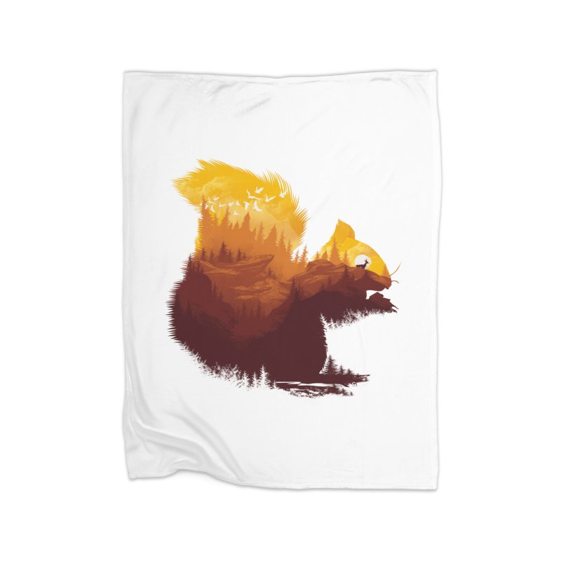 Be a little wild Home Blanket by dandingeroz's Artist Shop
