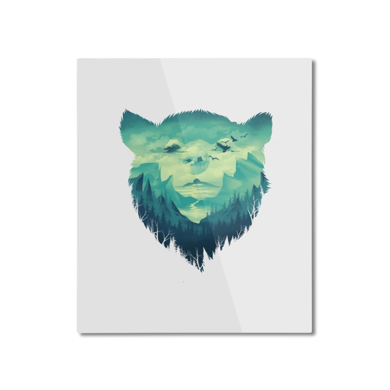 As cool as you Home Mounted Aluminum Print by dandingeroz's Artist Shop