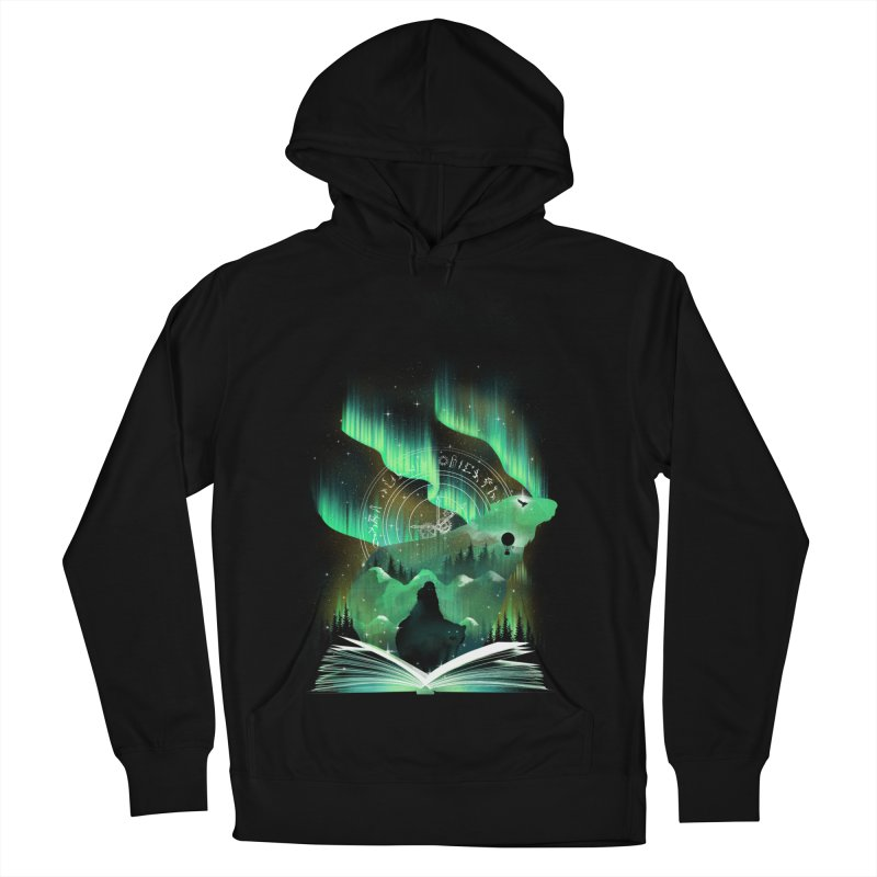 The Golden Night Men's French Terry Pullover Hoody by dandingeroz's Artist Shop