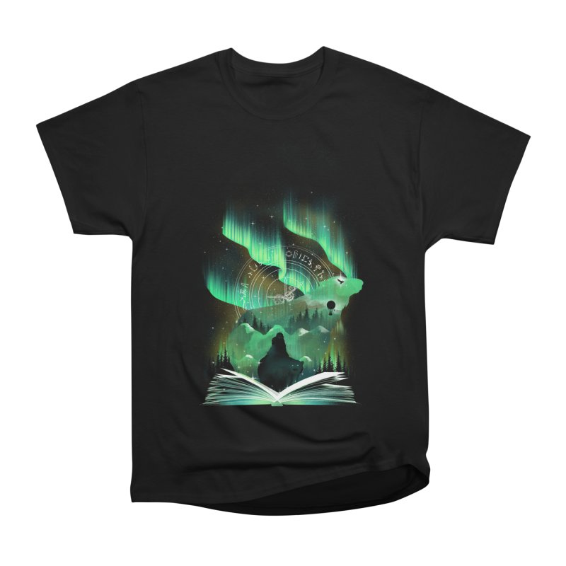 The Golden Night Men's Heavyweight T-Shirt by dandingeroz's Artist Shop