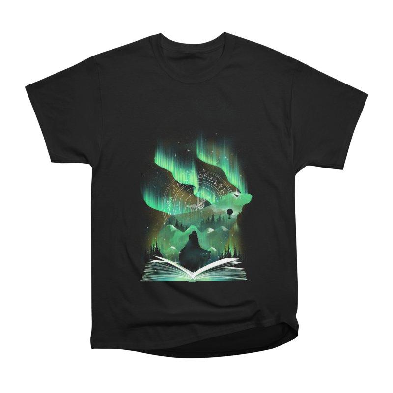 The Golden Night Women's Heavyweight Unisex T-Shirt by dandingeroz's Artist Shop