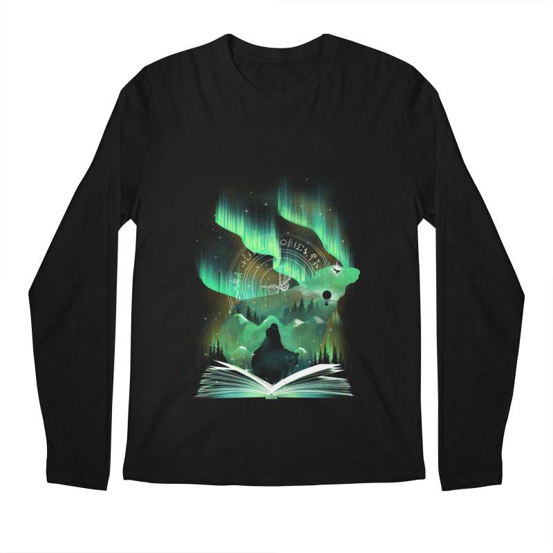 The Golden Night Men's Longsleeve T-Shirt by dandingeroz's Artist Shop