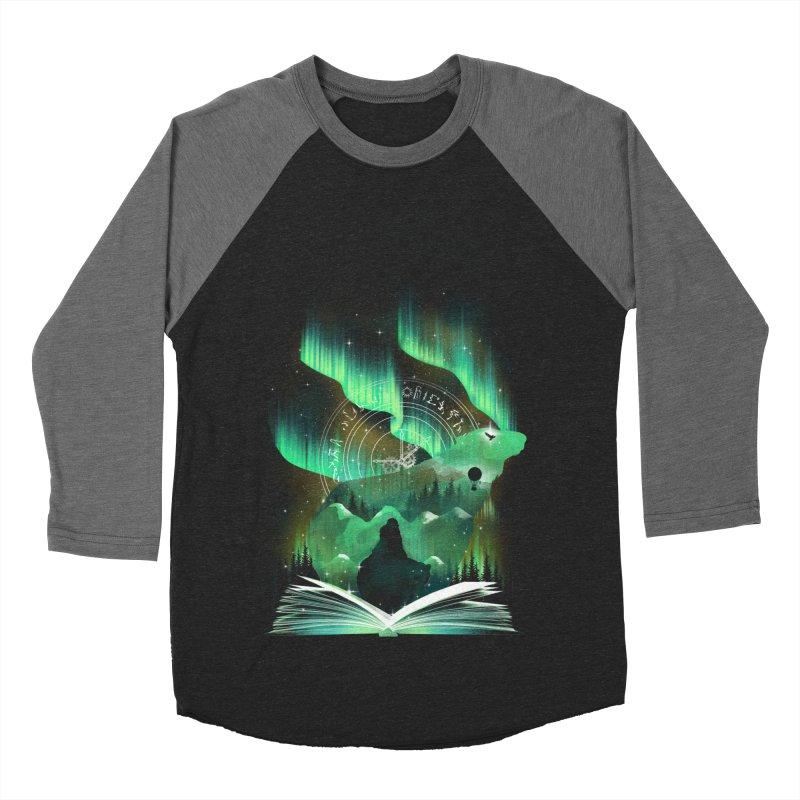 The Golden Night Women's Baseball Triblend Longsleeve T-Shirt by dandingeroz's Artist Shop