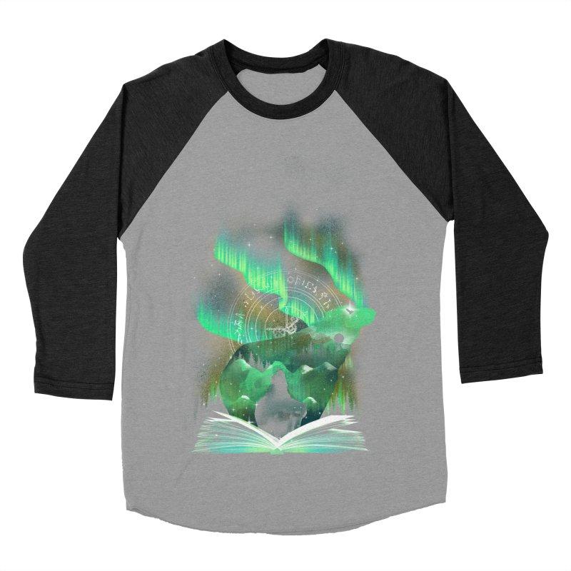 The Golden Night Men's Baseball Triblend T-Shirt by dandingeroz's Artist Shop