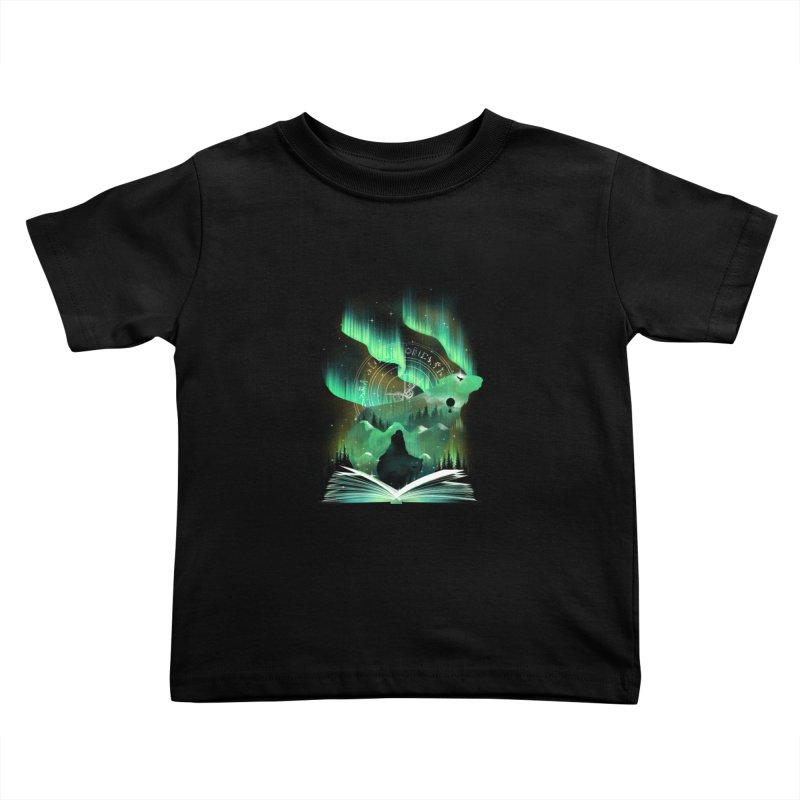 The Golden Night Kids Toddler T-Shirt by dandingeroz's Artist Shop