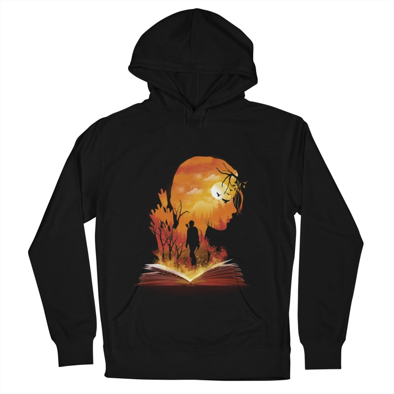 Book of Dystopia Men's French Terry Pullover Hoody by dandingeroz's Artist Shop