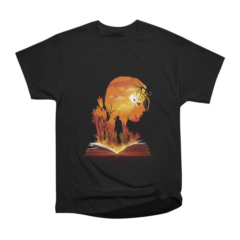 Book of Dystopia Women's Heavyweight Unisex T-Shirt by dandingeroz's Artist Shop