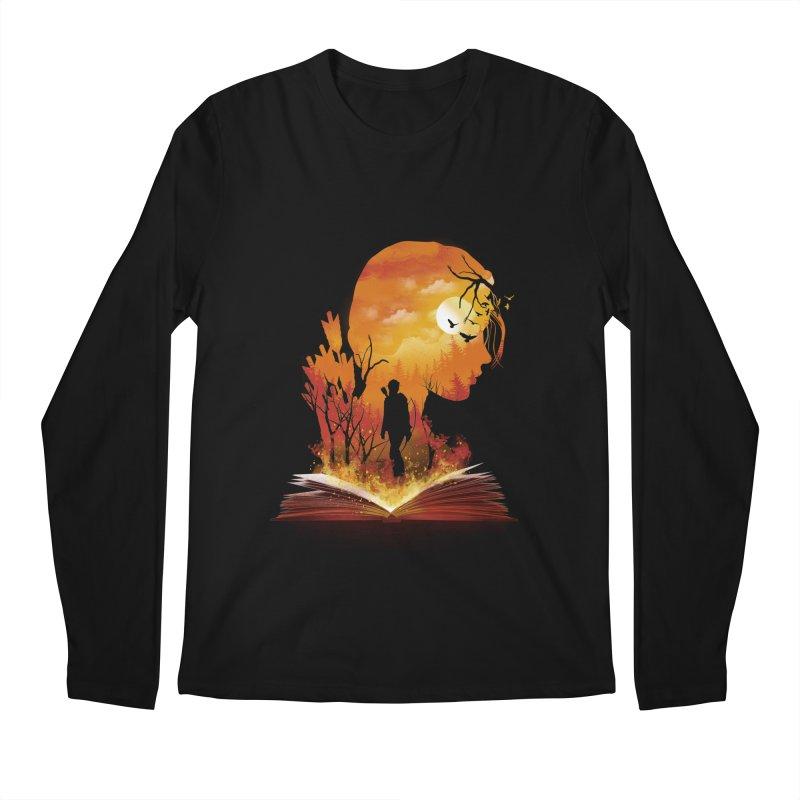 Book of Dystopia Men's Longsleeve T-Shirt by dandingeroz's Artist Shop