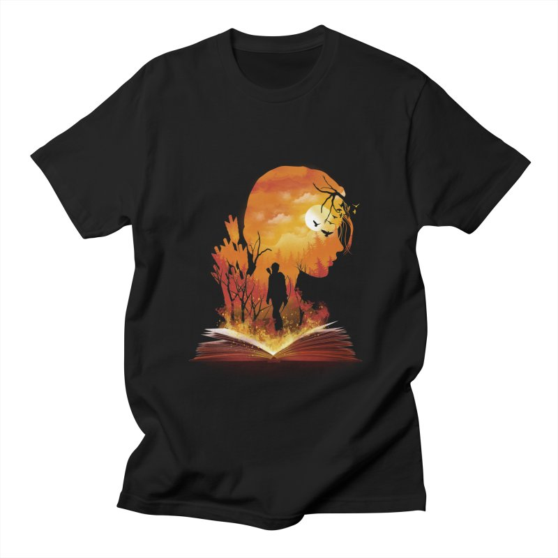 Book of Dystopia Men's Regular T-Shirt by dandingeroz's Artist Shop